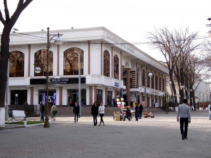 Торговый центр Зарафшан