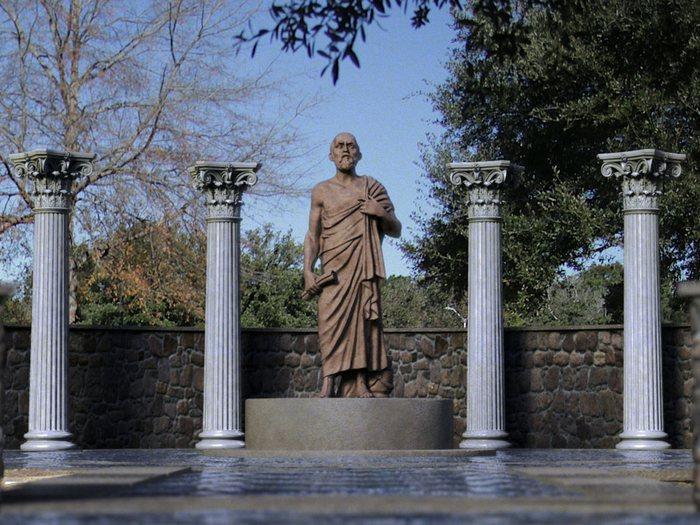 Памятник Гиппократу в Перми