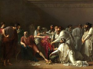Гиппократ отказывает послам Артаксеркса