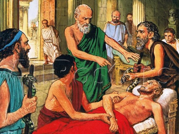 Гиппократ целитель