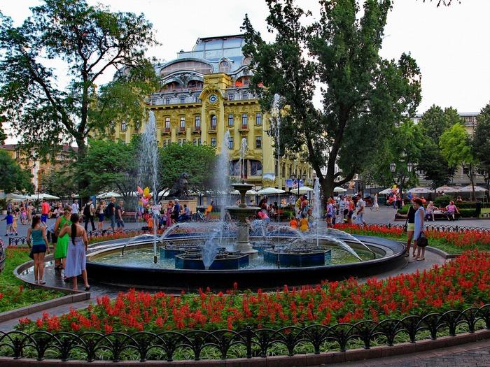 Город-герой Одесса. История города-героя