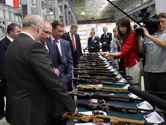 В.Путин на ИжМаше