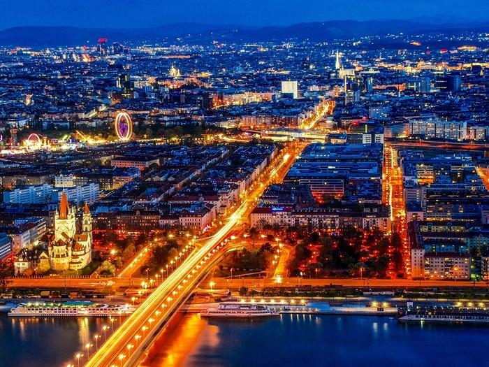 Столица Австрии Вена сейчас