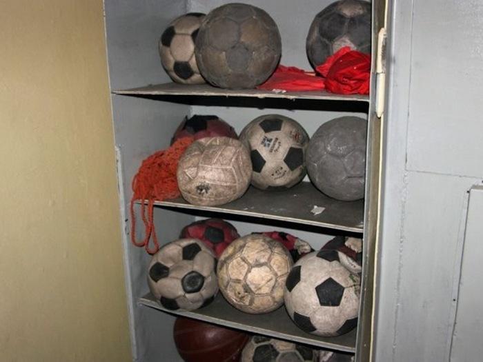 Мячи на отдыхе