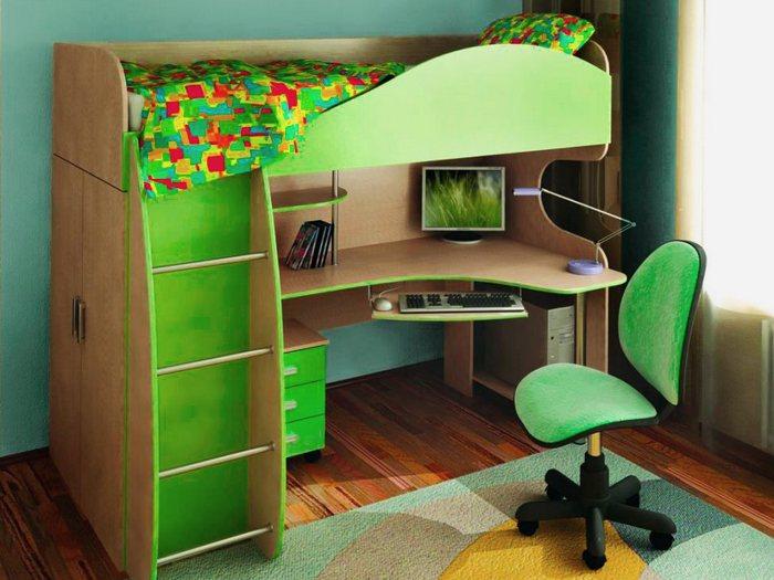 Детский уголок - как выбрать? Детские уголки с кроватью и столом