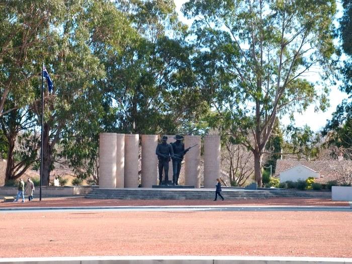 Сад Скульптур Австралийский военный мемориал