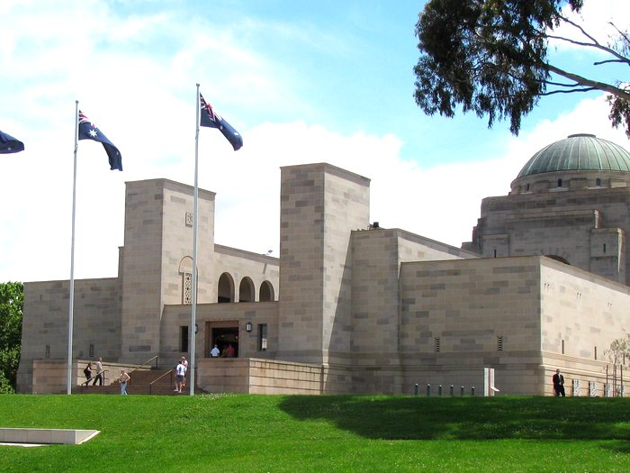 Австралийский-военный-мемориал-в-Канберре-2