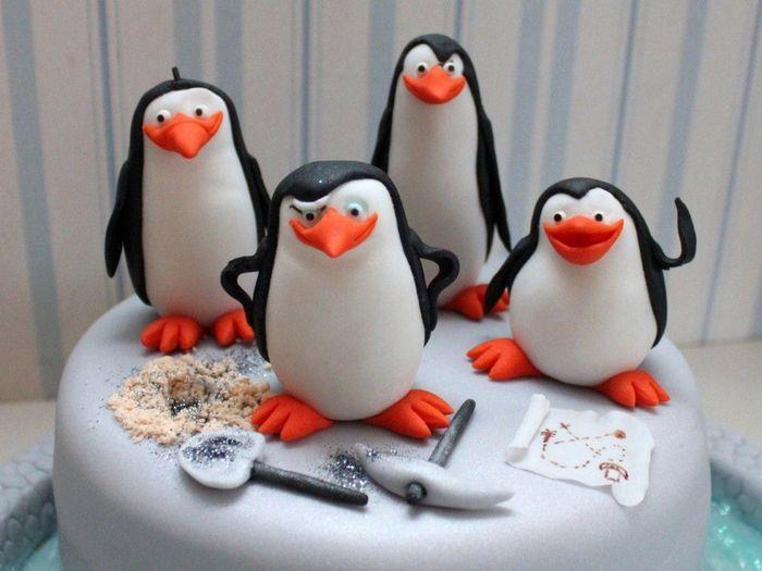 лепные пингвины