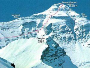 соло на эверест — маршрут меснера