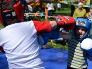 Бокс для детей фото