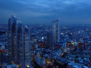 Небоскребы Токио