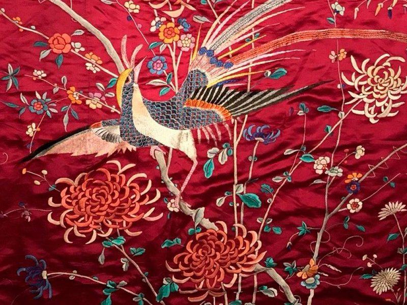 Китайская вышивка