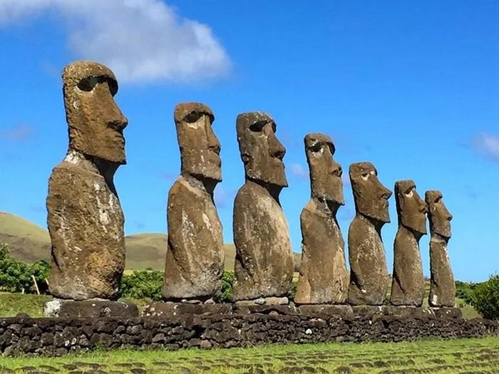 887 статуй Моаи