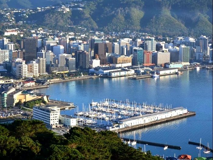 Современные города Новой Зеландии