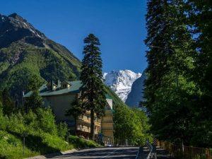 Российский горнолыжный курорт