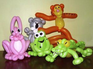 Разные фигуры из шаров