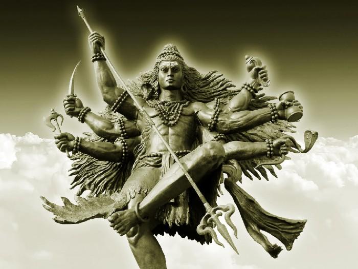 Статуя Бхайравы