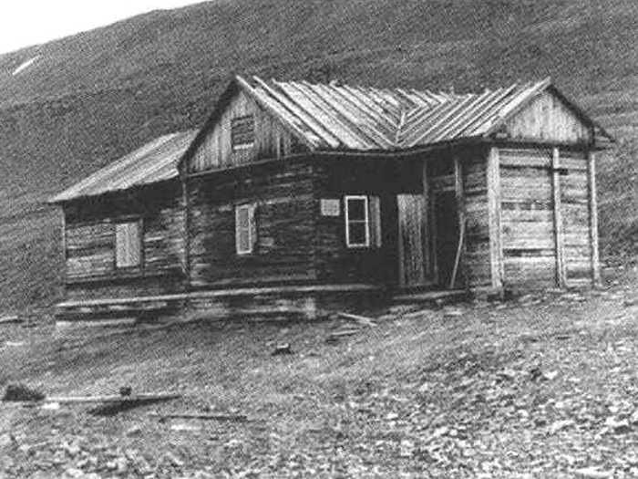 Русский дом на Шпицбергене