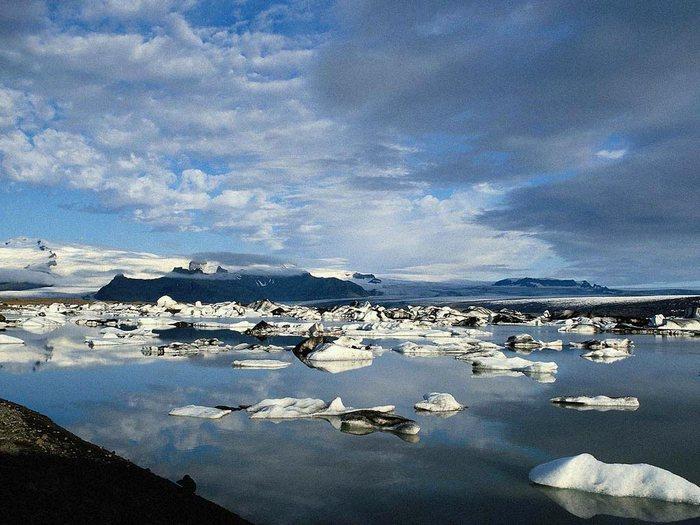 льды на беринговом море